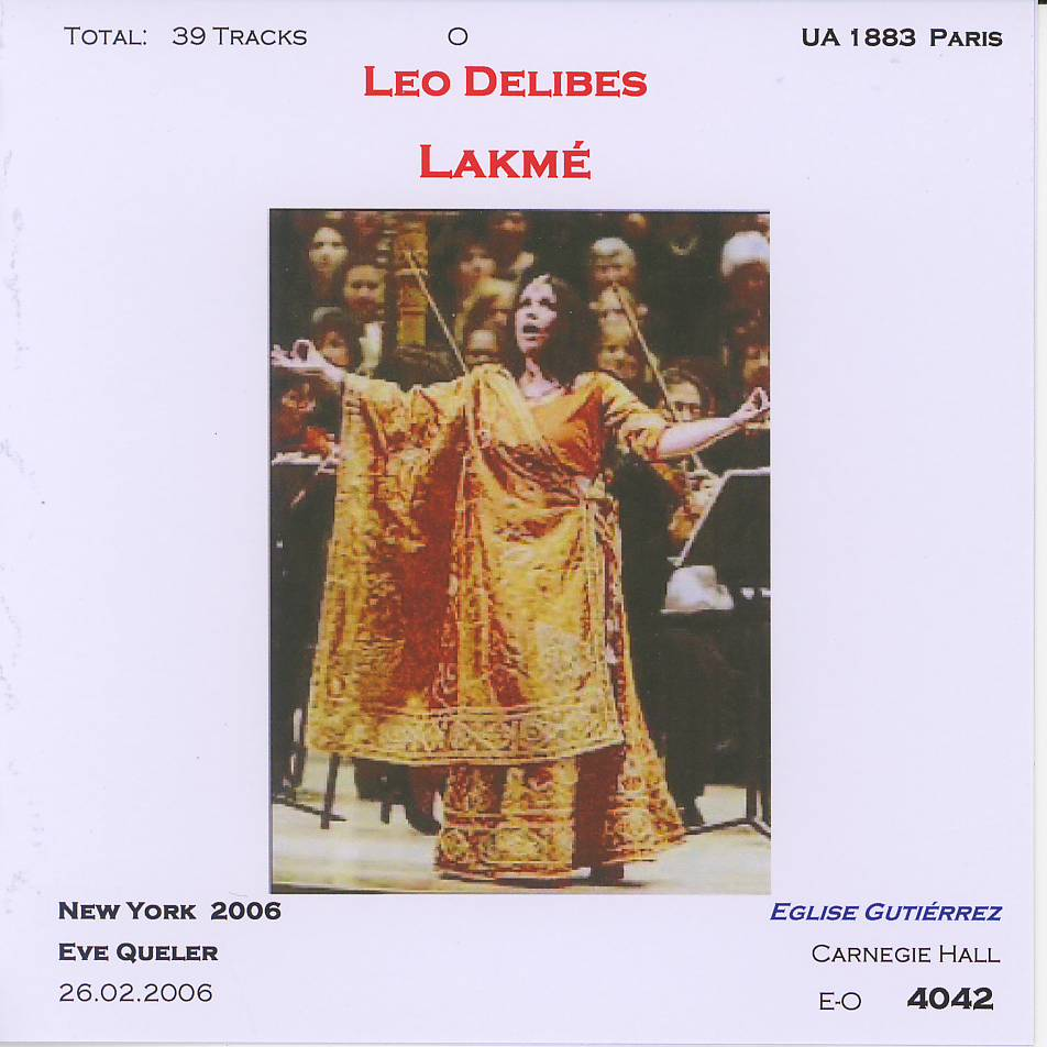 lakme dessay kunde Delibes: lakme highlights / dessay, kunde, van dam with van dam, jos , kunde, gregory on cd order from your preferred classical music cd store - arkivmusic great prices best service fast delivery.